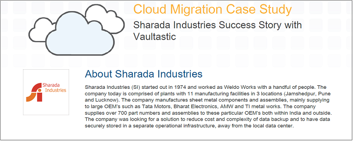 Sharada Industries Case Study