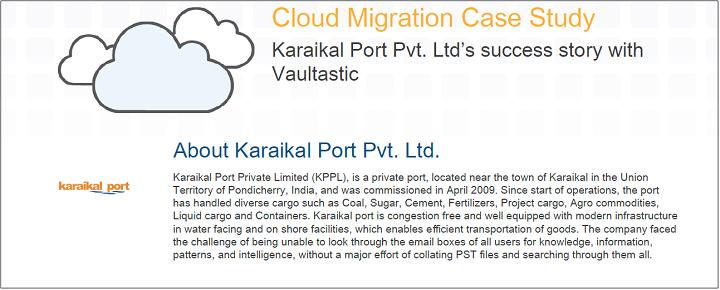 karaikal port case study